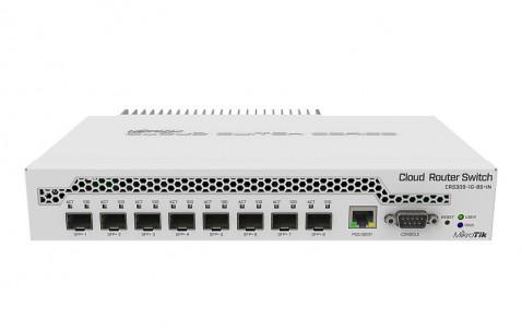 Mikrotik gigabitno stikalo z 8 SFP+ CRS309-1G-8S+IN