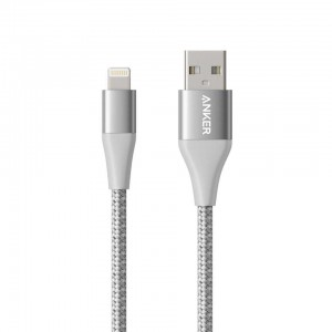 Anker Powerline+ II Lightning kabel 0,9m siv