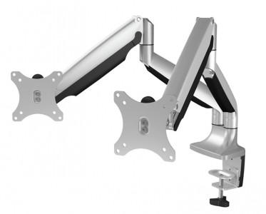 IcyBox dvojni namizni nosilec za monitorja do diagonale 32''