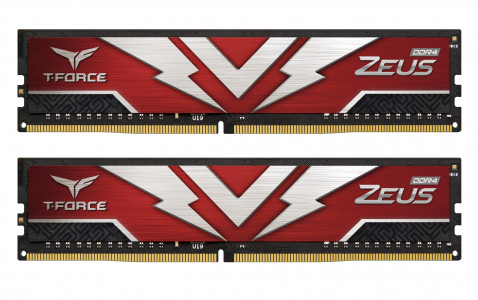Teamgroup Zeus 16GB Kit (2x8GB) DDR4-3200 DIMM PC4-24000 CL16, 1.35V
