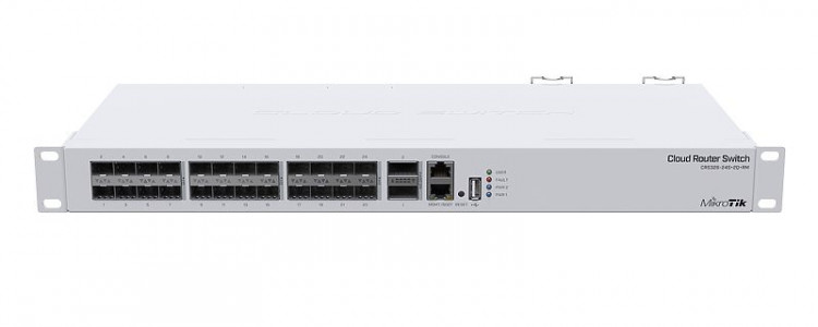 Mikrotik stikalo CRS326-24S+2Q+RM