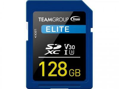 Teamgroup Elite 128GB SD UHS-I V30 90MB/s spominska kartica