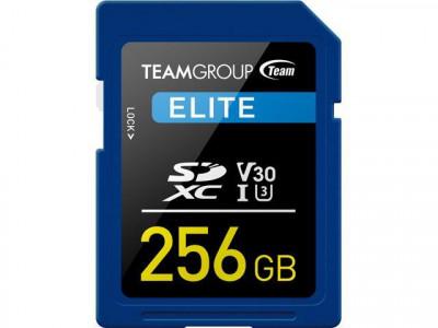 Teamgroup Elite 256GB SD UHS-I V30 90MB/s spominska kartica