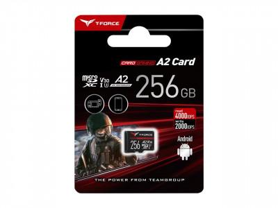 Teamgroup Gaming A2 256GB MicroSD UHS-I U3 V30 100/90MB/s spominska kartica