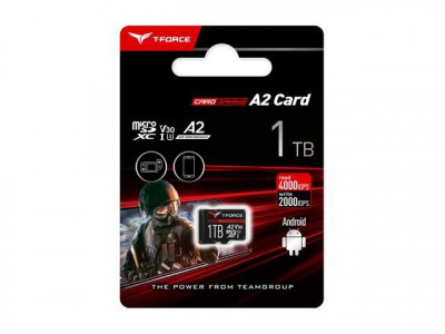 Teamgroup Gaming A2 1TB MicroSD UHS-I U3 V30 100/90MB/s spominska kartica