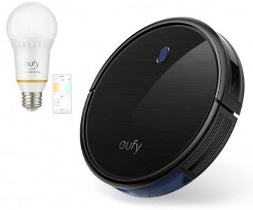 Anker RoboVac 11S robotski sesalnik črn + DARILO: Eufy pametna WiFi nastavljiva LED sijalka