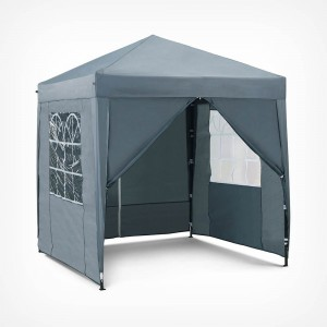 VonHaus Pop Up paviljon 2 x 2m Slate Grey