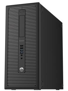 HP EliteDesk 800 G1 T i5-4670 8GB 256GB SSD Windows 10 Pro - obnovljen računalnik