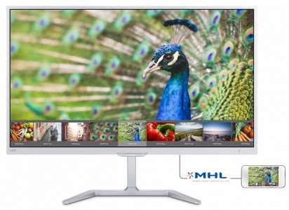 "Philips 246E7QDSW 23,6"" PLS monitor"