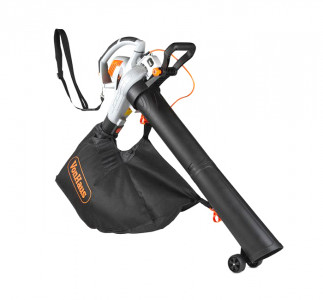 VonHaus 3v1 električni puhalnik, sesalnik listja in mulčer 45L