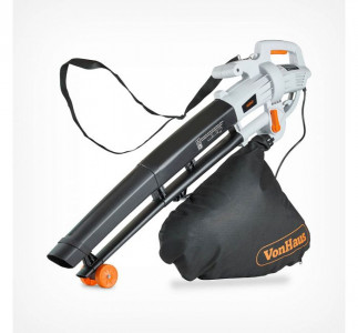 VonHaus 3v1 električni puhalnik, sesalnik listja in mulčer 35L