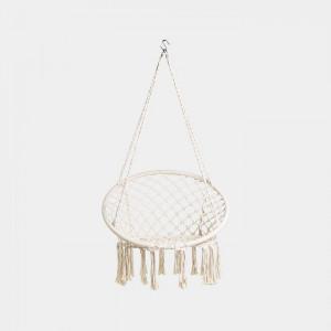 Vonhaus viseč vrtni stol iz vrvi