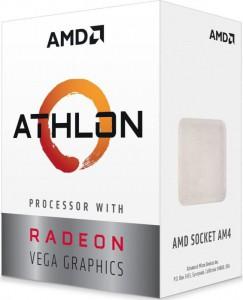 AMD Athlon 240GE procesor z Radeon Vega3 grafiko