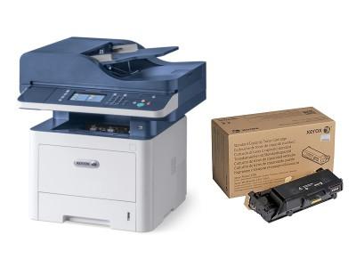 Xerox WorkCentre 3345DNI, črnobela večopravilna naprava 4v1, + GRATIS TONER