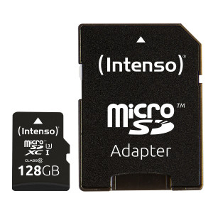 Intenso 128GB microSDXC UHS-I Class 10 Pro 90MB/s spominska kartica