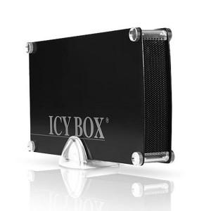 "Icybox IB-351StU3-B zunanje ohišje, 3.5"" SATA, USB 3.0, črno"