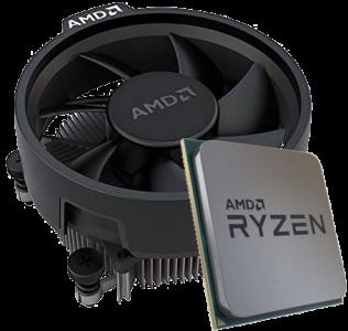 AMD Ryzen 5 3500 procesor z Wraith Stealth hladilnikom - MPK