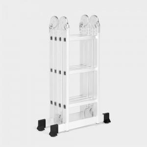 VonHaus 3.5m večnamenska aluminijasta lestev