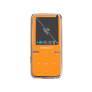 Intenso MP3 predvajalnik Video Scooter - oranžen