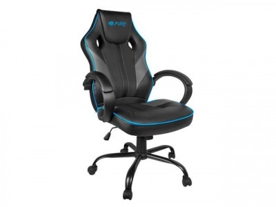 FURY Gaming stol AVANGER M črn, moder