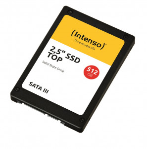 "Intenso Top 512GB SSD 3D NAND 2,5"" SATA 3"