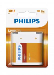 PHILIPS BATERIJA 4,5V LONGLIFE 3R12L1B/10