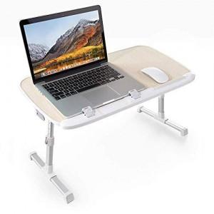 TaoTronics večnamenska nastavljiva miza za prenosnik rjava TT-SD003