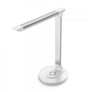 TaoTronics LED namizna svetilka z brezžično polnilno postajo bela TT-DL043