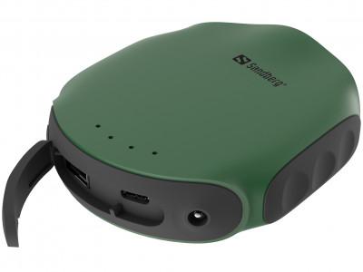 Sandberg Survivor Powerbank 10000mAh prenosna baterija z LED svstilko in kompasom