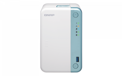 QNAP NAS TS-251D-2G ZA 2× HDD