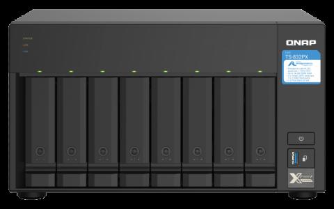 QNAP TS-832PX-4G NAS strežnik za 8 diskov