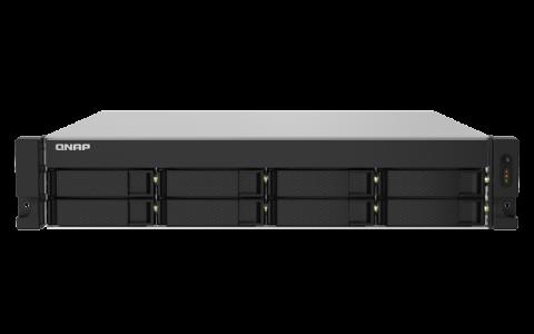 QNAP NAS strežnik za 8 diskov, 4GB ram, 2x 10Gb SFP+, 2x 2.5Gb mreža