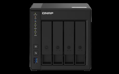 QNAP NAS strežnik za 4 diske, 2GB ram, 2x 1Gb mreža, HDMI 4K