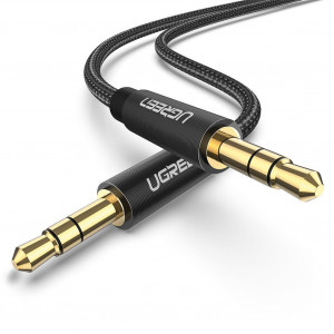 Ugreen aux avdio kabel 3.5mm 1m črn
