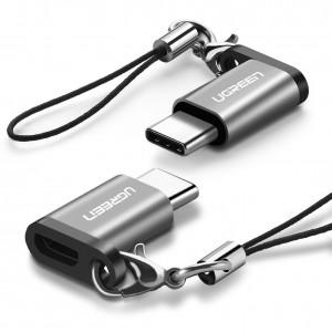 Ugreen obesek z adapterjem Micro USB na USB-C