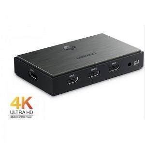 Ugreen HDMI 2.0 3x1 razdelilec, stikalo