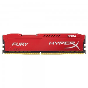 Kingston HyperX Fury Red 8GB 2666MHz DDR4 CL16
