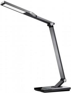 TaoTronics touch control Iron Gray LED namizna svetilka TT-DL063