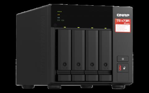 QNAP NAS strežnik za 4 diske, 8GB ram, 2x 2.5Gb mrežo