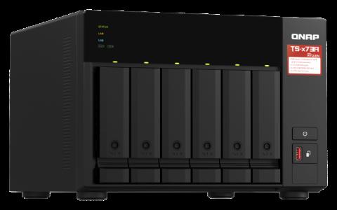 QNAP NAS strežnik za 6 diskov,  8GB ram, 2x 2.5GbE mrežo