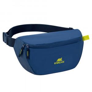 Rivacase modra torbica za okrog pasu 5512