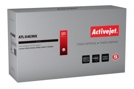 ActiveJet črn toner Lexmark X463NX