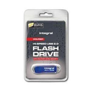 INTEGRAL COURIER 16GB USB2.0 FIPS197 encrypted  spominski ključek