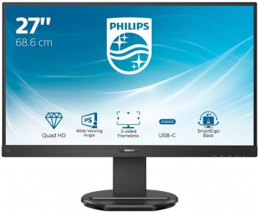 """Philips 276B9 27""""IPS QHD monitor z USB-C PD za prenosnik"""