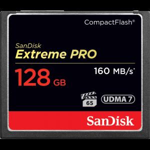 SanDisk 128GB Compact Flash Extreme UDMA7 poškodovana embalaža