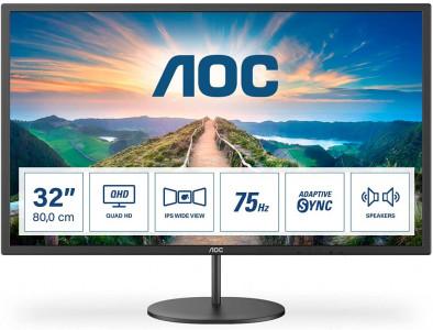"""AOC Q32V4 31,5"""" IPS QHD 75Hz monitor"""