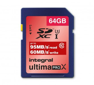 Integral spominska kartica UltimaPro X SDHC 64GB Class 10