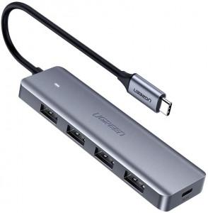Ugreen Hub USB-C 4 portni