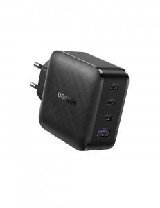 Ugreen USB-A in 3xUSB-C 65W  GaN hitri polnilec