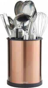 VonShef držalo za kuhinjske pripomočke vrtljivo Copper